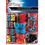 Power Rangers 'Ninja Steel' Favor Pack (48 count) Birthday Party Supplies