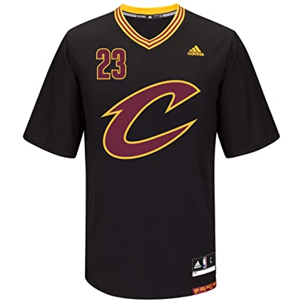 06debca1c Amazon.com   NBA Cleveland Cavaliers LeBron James  23 Men s Replica ...