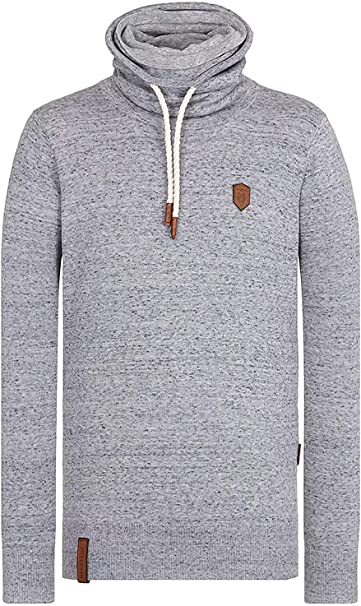 Pullover & Strickjacken Naketano Kapuzenpullover grey