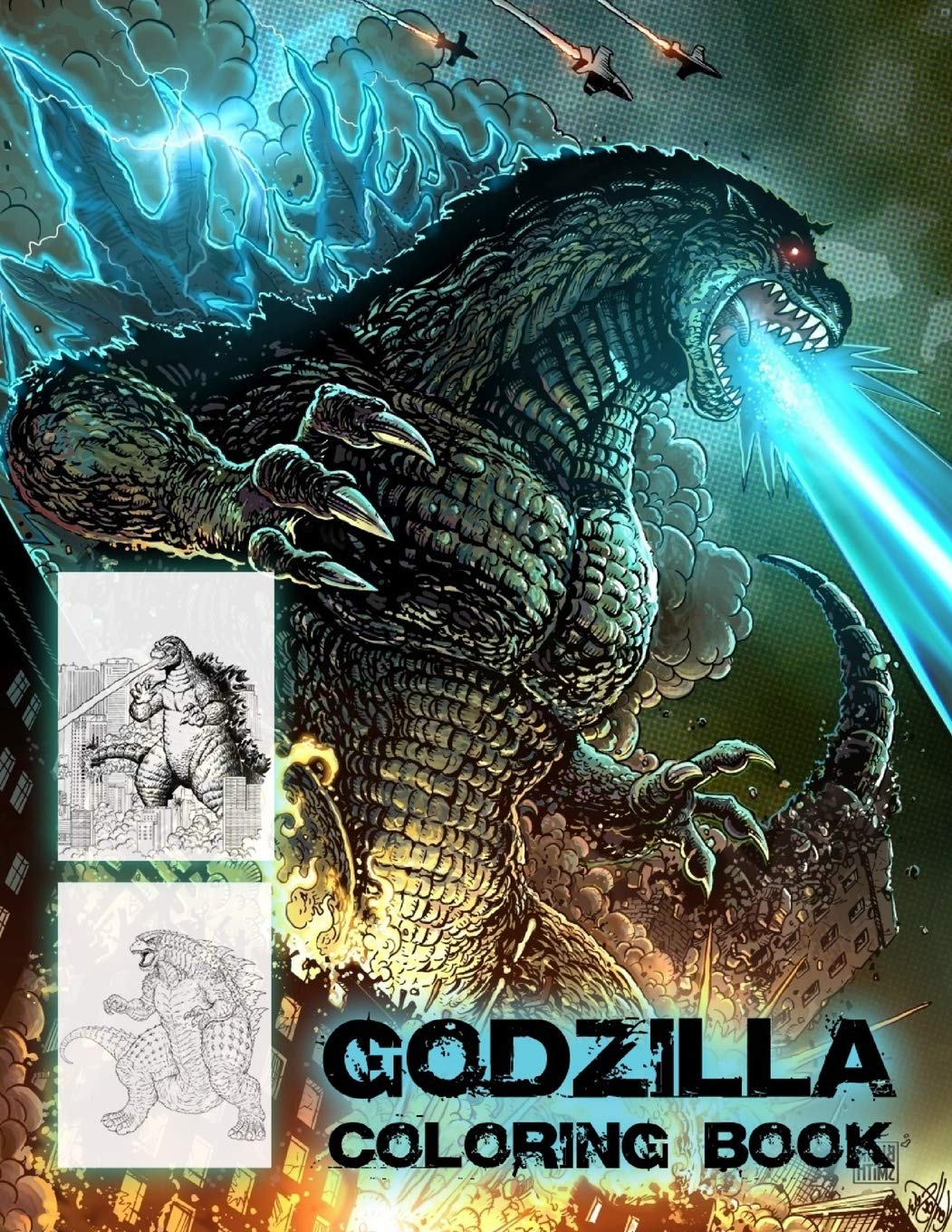 godzilla coloring pictures – lawofattractiontechniques.info