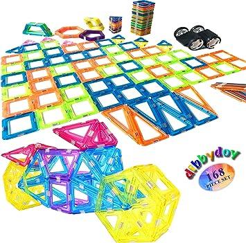 Happy Kids Didactic Toys - Juego de bloques magnéticos para ...