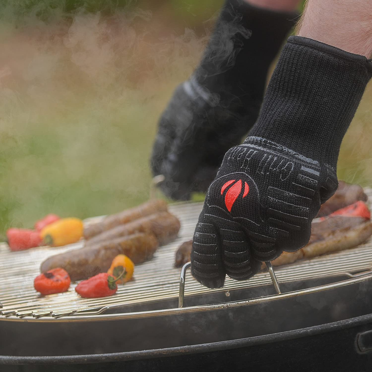 Grill Heat Aid Extreme Heat Resistant Grill/BBQ Gloves For Men & Women