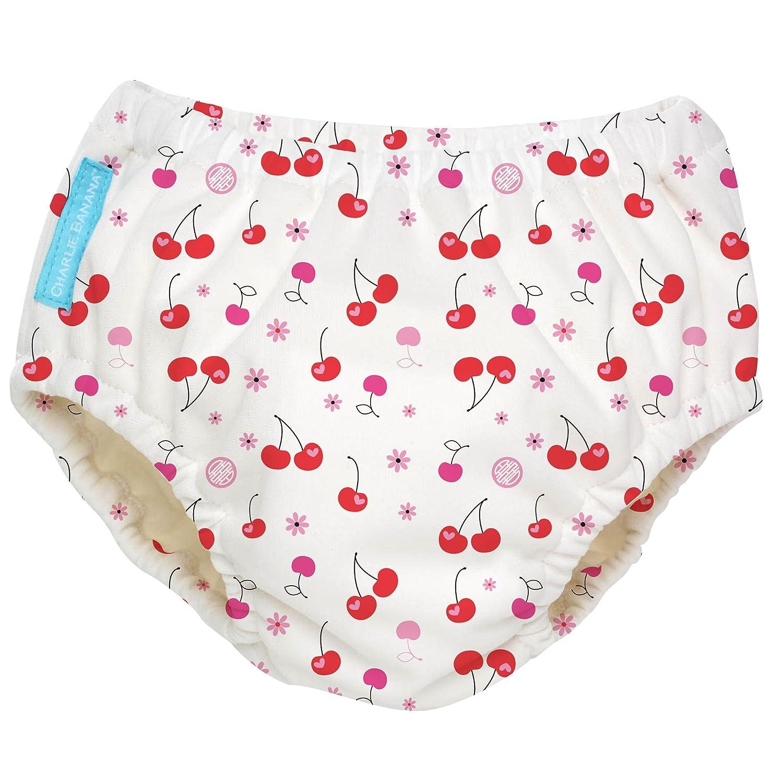 Charlie Banana Extraordinary Swim Diaper, Cherries, Medium 888684