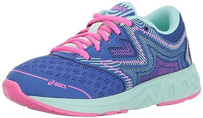 1a41902cfbf8 ASICS Unisex Noosa GS Running Shoe Blue Purple Glacier Hot Pink 1 Medium US
