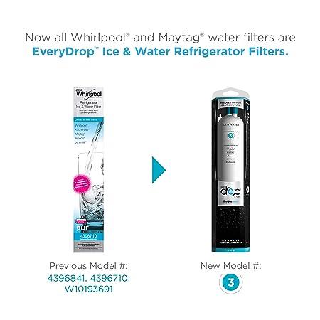.com: whirlpool edr3rxd1 everydrop refrigerator water filter 3 ...