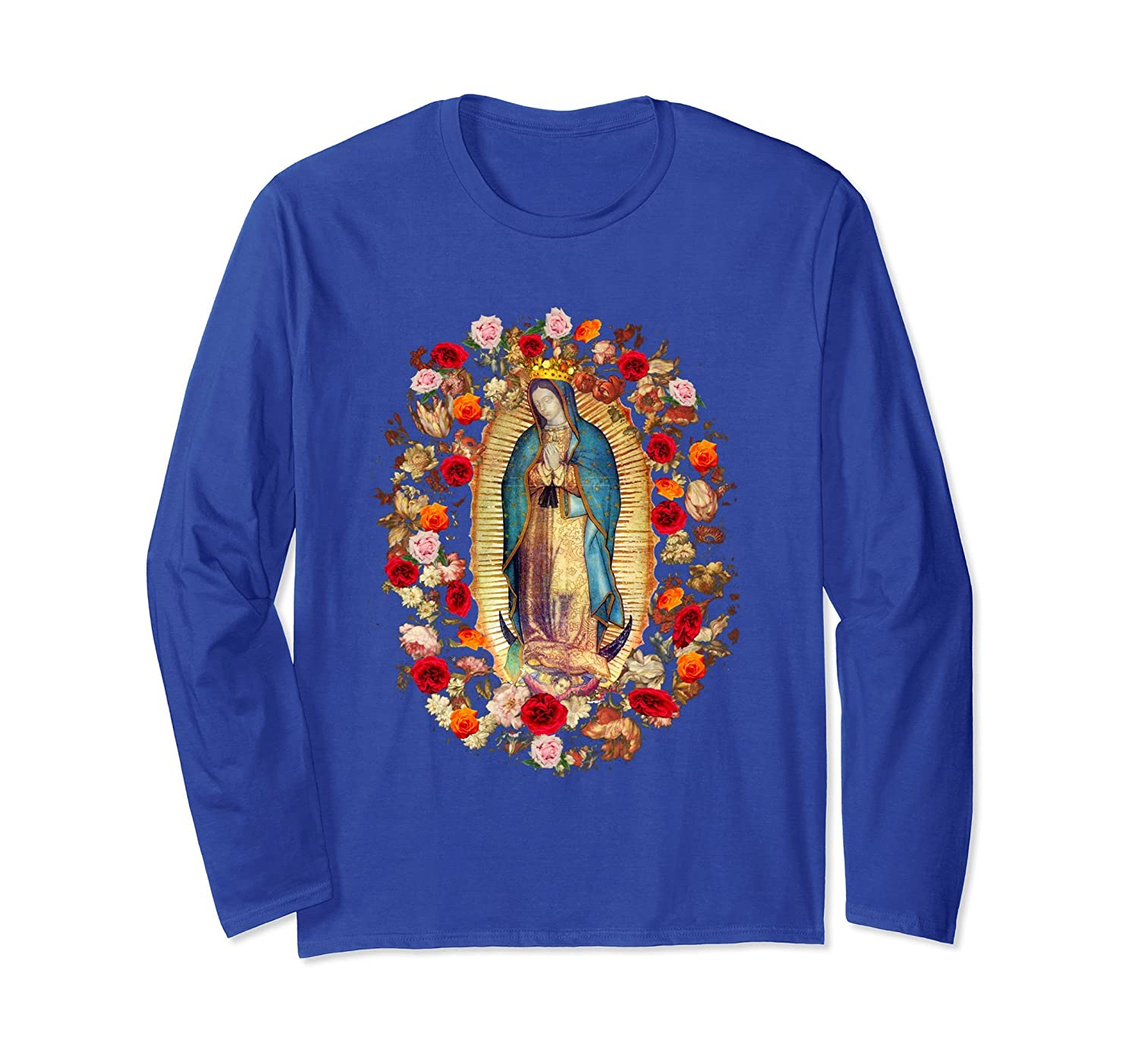 32006fb92 Our Lady of Guadalupe Virgin Mary Catholic T-Shirt Mexico-ah my ...