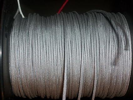 Amazon com : 60X Custom Strings Silver BCY #24 D Loop Rope
