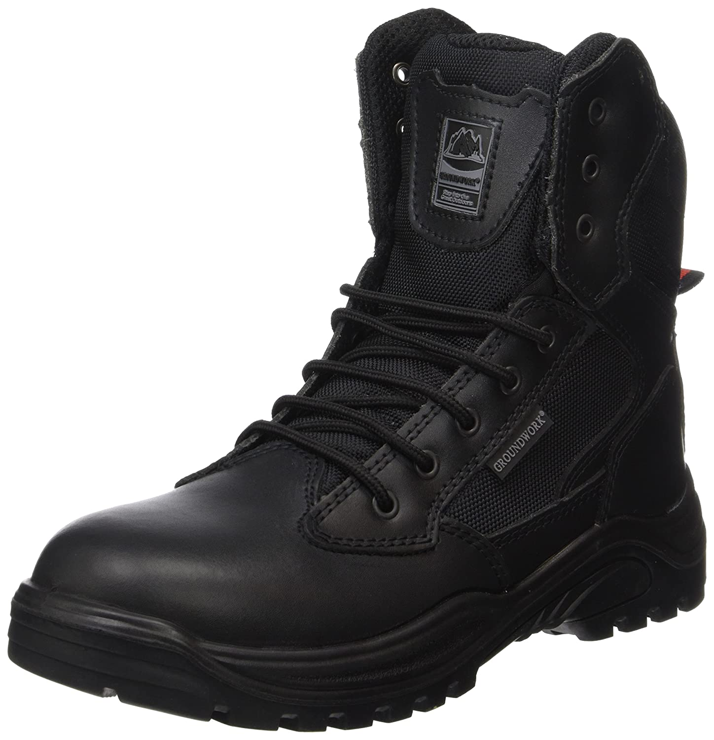 18feed9bd624 Steel Toe Cap Combat Tactical Safety Ankle Boots Security Military Police  Boot