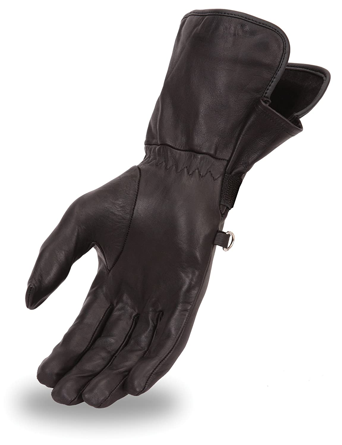 Buy leather gauntlet gloves - Amazon Com First Manufacturing Women S Light Weight Gauntlet Gloves Black Large Automotive