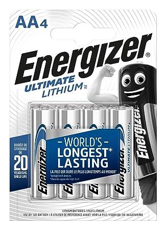 Energizer Batterie Lithium Mignon AA (1,5Volt 4er Packung)