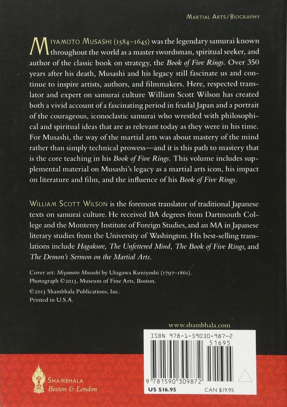 Amazon The Lone Samurai Life Of Miyamoto Musashi 9781590309872 William Scott Wilson Books