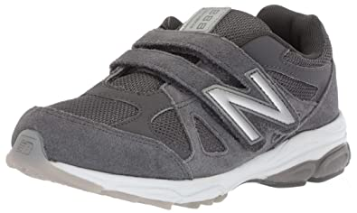 low priced 92ecd 9ff3a New Balance Boys  888v1 Hook and Loop Running Shoe, Magnet Marblehead, 2
