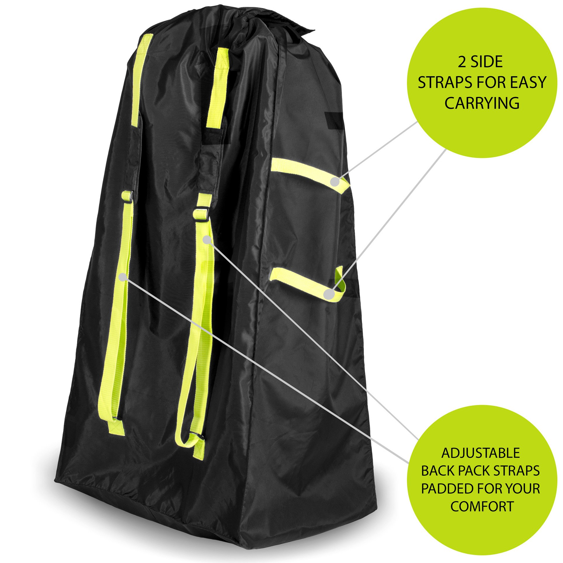 Volkgo Durable Stroller Bag For Airplane Standard Or