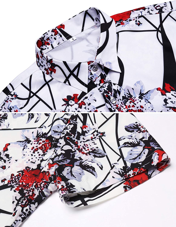 Daupanzees Mens Nightgown Big /& Tall Sleep Shirt Kaftan Sleep Tops Short Sleeve Pajama Lace-up Plus Size Nightshirt M-3XL
