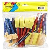 Artlicious - Foam Paint Brush Value Pack