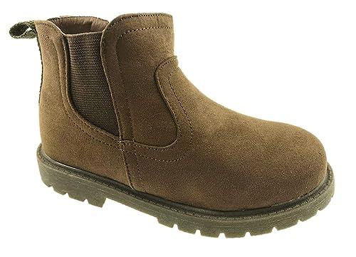 fc1f931ed44 Carters - Botines Chelsea de Sintético para Chico  Amazon.es  Zapatos y  complementos