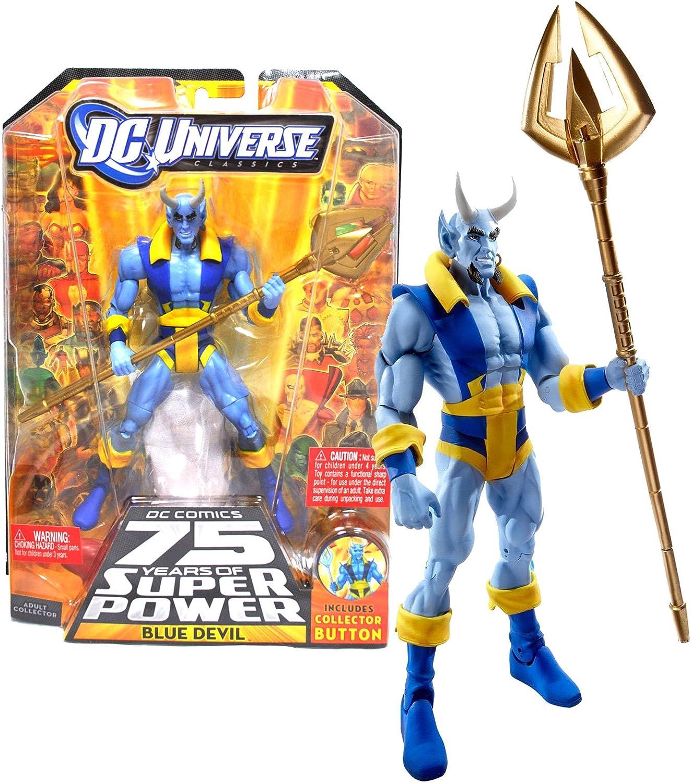 75 ans de Super Power Classics TRIGON Series Blue Devil Action Figure