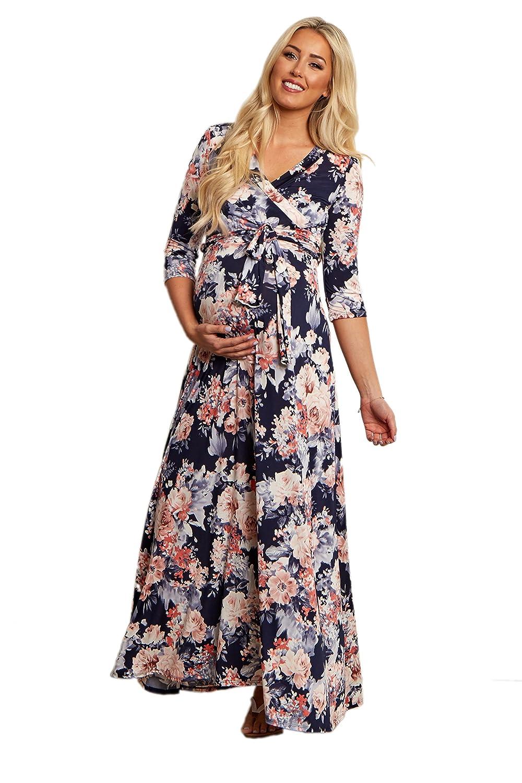2006d4c6e71 Blue Floral Wrap Dress Amazon - Gomes Weine AG
