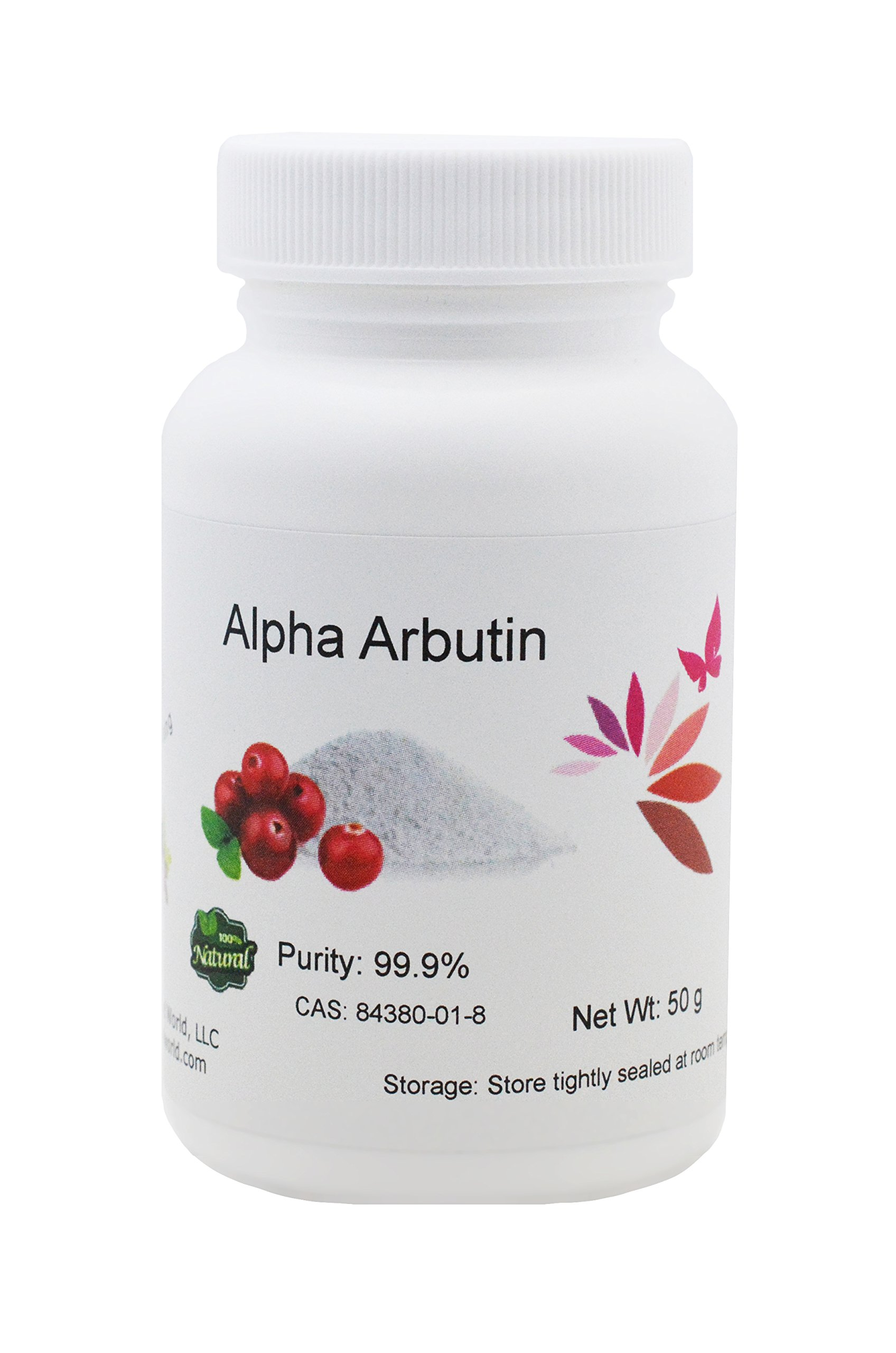 Pure Alpha-Arbutin Powder, 100 grams, Quality Guaranteed! Good for Skin Lightening by L'eternel World (Image #1)