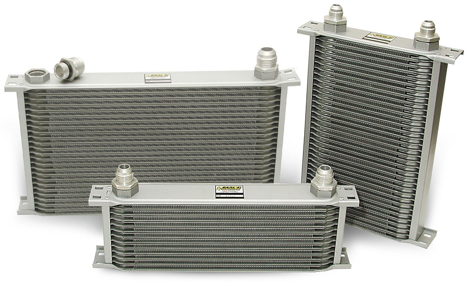 Earl's 41900ERL 19 Row Oil Cooler Core Grey Earl' s Performance