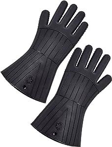 Star Wars Oven Gloves: Silicone: Darth Vader (2-PK), Black, 35.4 x 16.88 x 2.1 cm