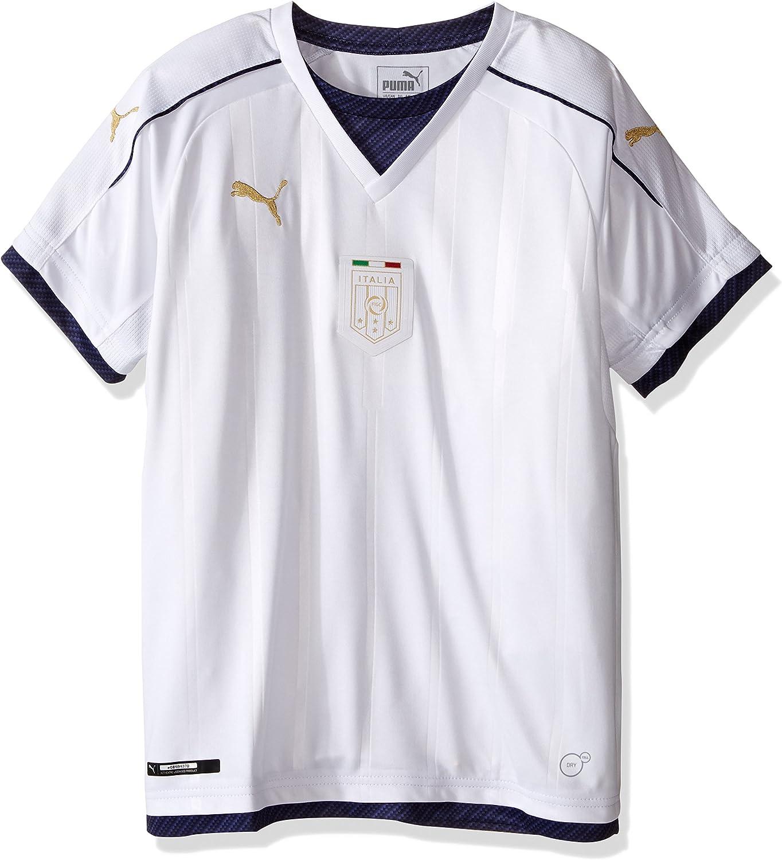 PUMA Men's FIGC Italia Kids Tribute Away Shirt Replica
