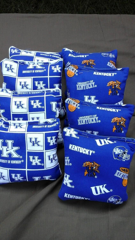 University of Kentucky Wildcatsコーンバッグのセット8 University Tournament Kentucky of regulation B0763F9ZXL Parent, おしぼりダスターウエス専門店:05a49325 --- infinnate.ro