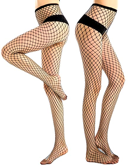 b7fb610f0a6b03 Image Unavailable. Image not available for. Color: Women's Fishnet Tights  ...