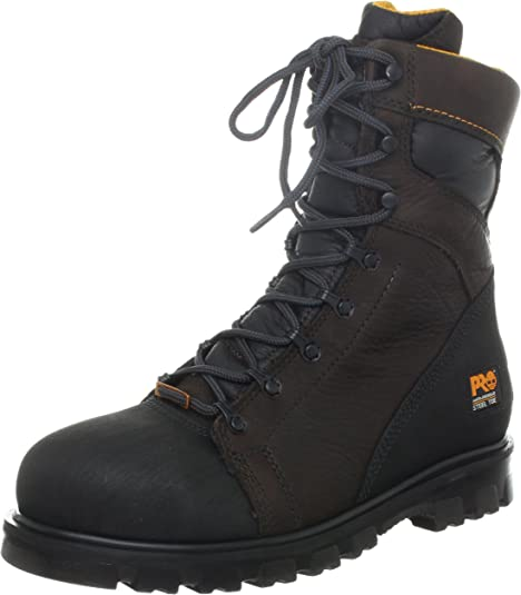"""Timberland PRO A11SB 8/"""" Rigmaster Safety Toe EH Rated Non Slip Titan Work Boots"""