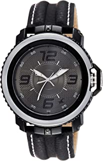 buy fastrack black dial analogue watch for men 38015pl02j online fastrack analog grey and black dial watch for men 38017pl01j