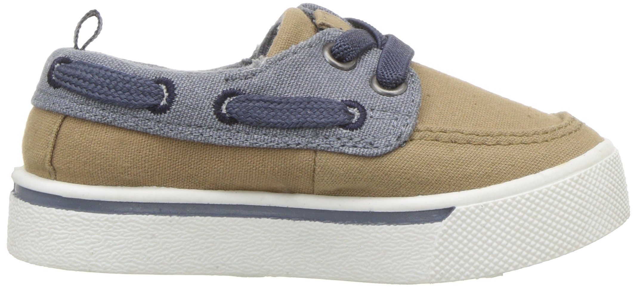 OshKosh B'Gosh Albie Boy's Boat Shoe, Khaki, 12 M US Little Kid by OshKosh B'Gosh (Image #7)