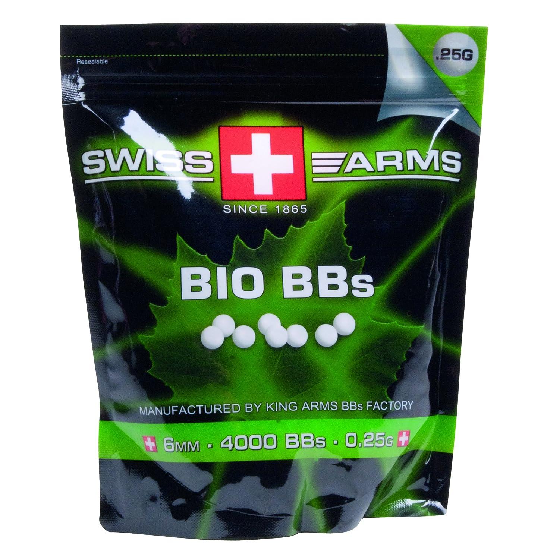 Swiss Arms Billes Bio Blanche 0, 28 gr Sac de 1 Kg 203810