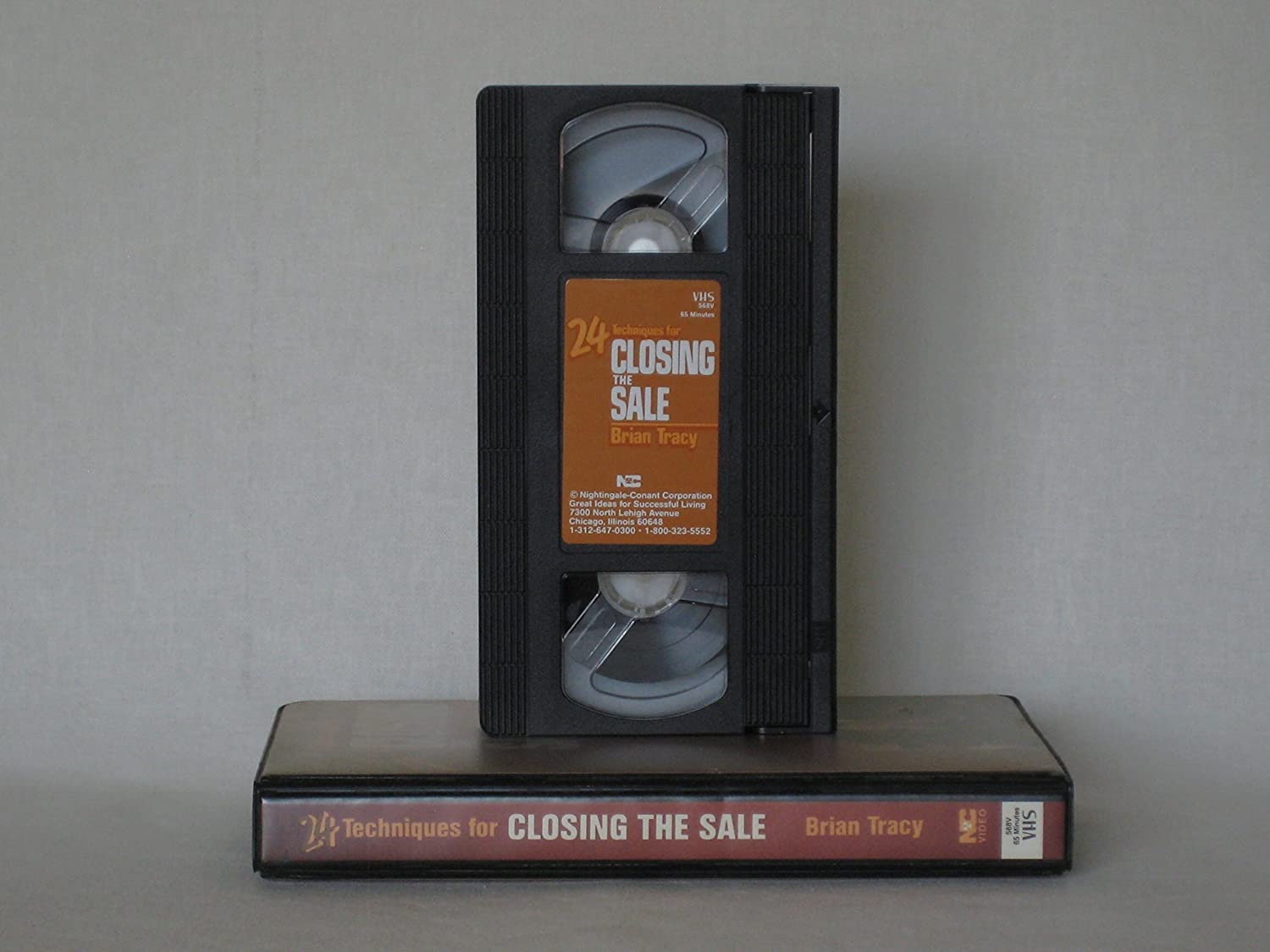 24 techniques for closing the sale vhs