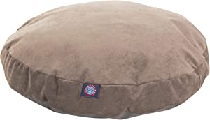 Pearl Villa Collection Small Round Pet Dog Bed