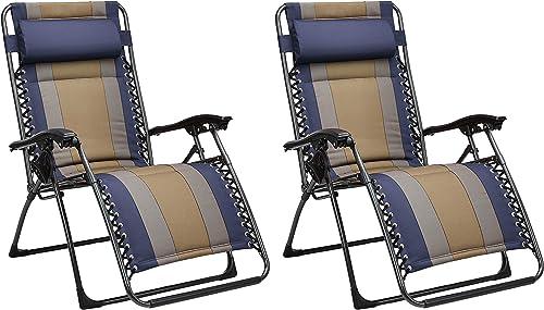 AmazonBasics Padded Zero Gravity Chair