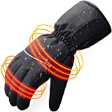 Winter Warm Electric Battery Heated Gloves for Men and Women,Outdoor Indoor battery powered Hand Warmer Glove Liners for Hiking Skiing Cycling Hunting Snowboarding(NO BATTERY INCLUDED)