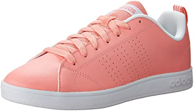 adidas cloudfoam advantage women's pink