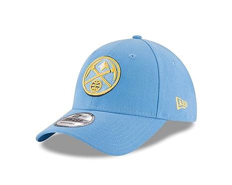 hot sale online 213a8 dc813 New Era Herren 9Forty Denver Nuggets Kappe, Blau, M