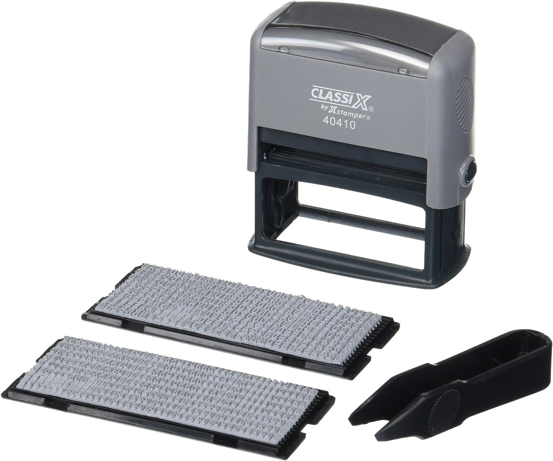 Xstamper Self-Inking Message Stamp Kit (XST40410)