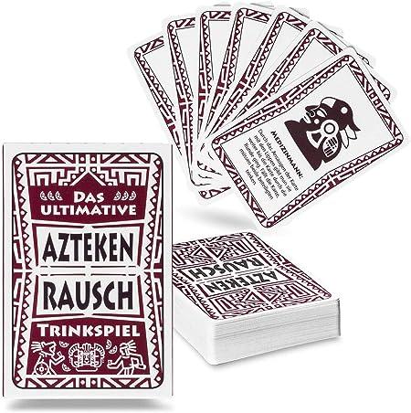 Aztekenrausch Party Trinkspiel - Juego de Mesa para Adultos: Amazon.es: Hogar