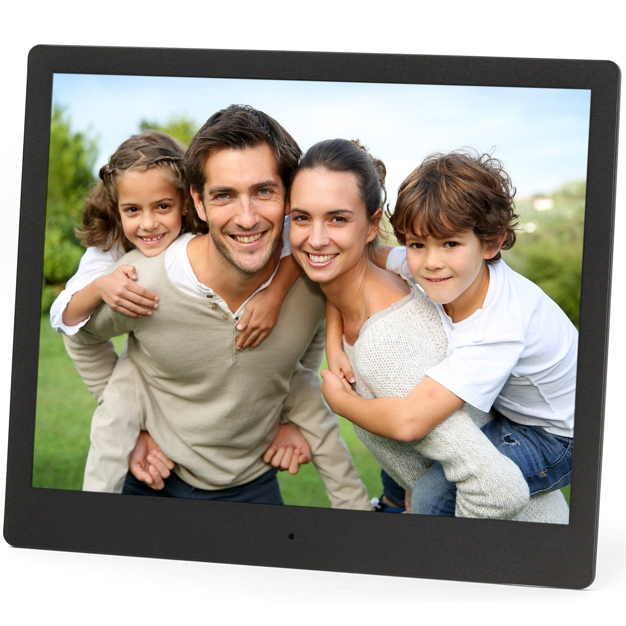 Micca NEO 10-Inch Digital Photo Frame with 8GB Storage, High Resolution IPS LCD, MP3 Music and 720P HD Video Playback, Auto On/Off Timer, Ultra Slim Design (M973A) by Micca