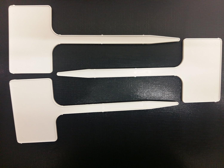 Yuzet 10 x T Etiquetas marcadores de Etiquetas de plástico de ...