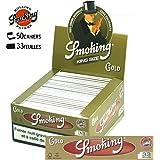 smoking cartine gold slim king size - 50 libretti