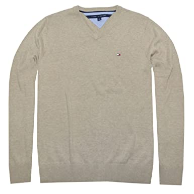 Tommy Hilfiger Men s Pacific V-Neck Pullover Sweater at Amazon Men s ... c5af7a7f0e