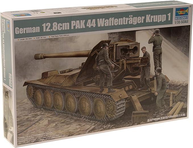 Trumpeter 5523 12,8cm PAK 44 Waffenträger Krupp 1 in 1:35