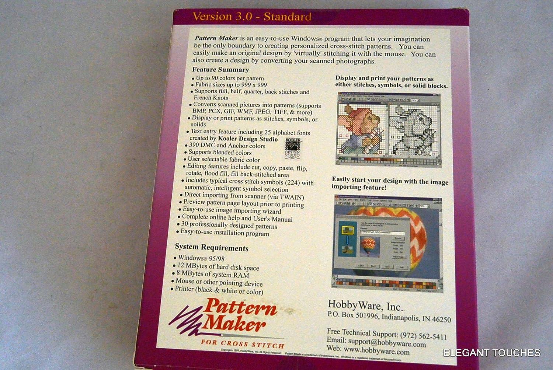 Pattern Maker for Cross Stitch 3 0