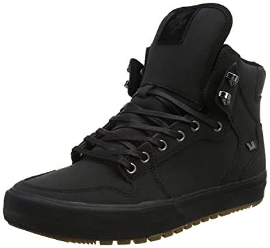 febe427156 Supra Vaider (Winter), Black/Dark Gum, Men's 11 D - Medium