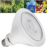 LED Plant Grow Light, 16.5W PAR38 Full Spectrum Hydroponic Lighting 2 Years Warranty