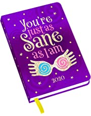 Official Harry Potter 2020 Diary - Luna Lovegood Design- Week to View A6 format