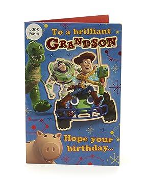 Grandson Birthday Card Pop Up